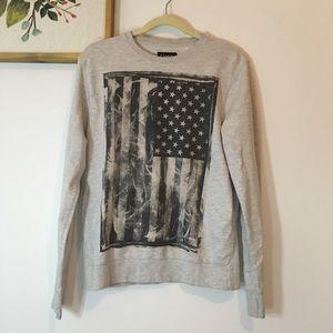 ⚡️ 3/$20 Carbon American Flag Sweatshirt
